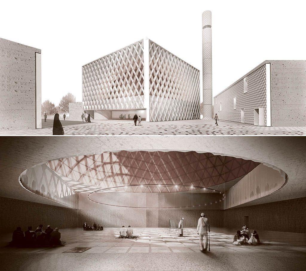 Uradni začetek gradnje džamije