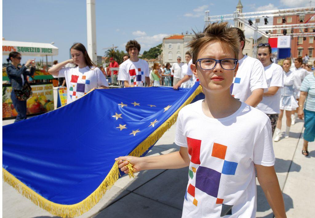 Hrvaška slovesno vstopila v Evropsko unijo