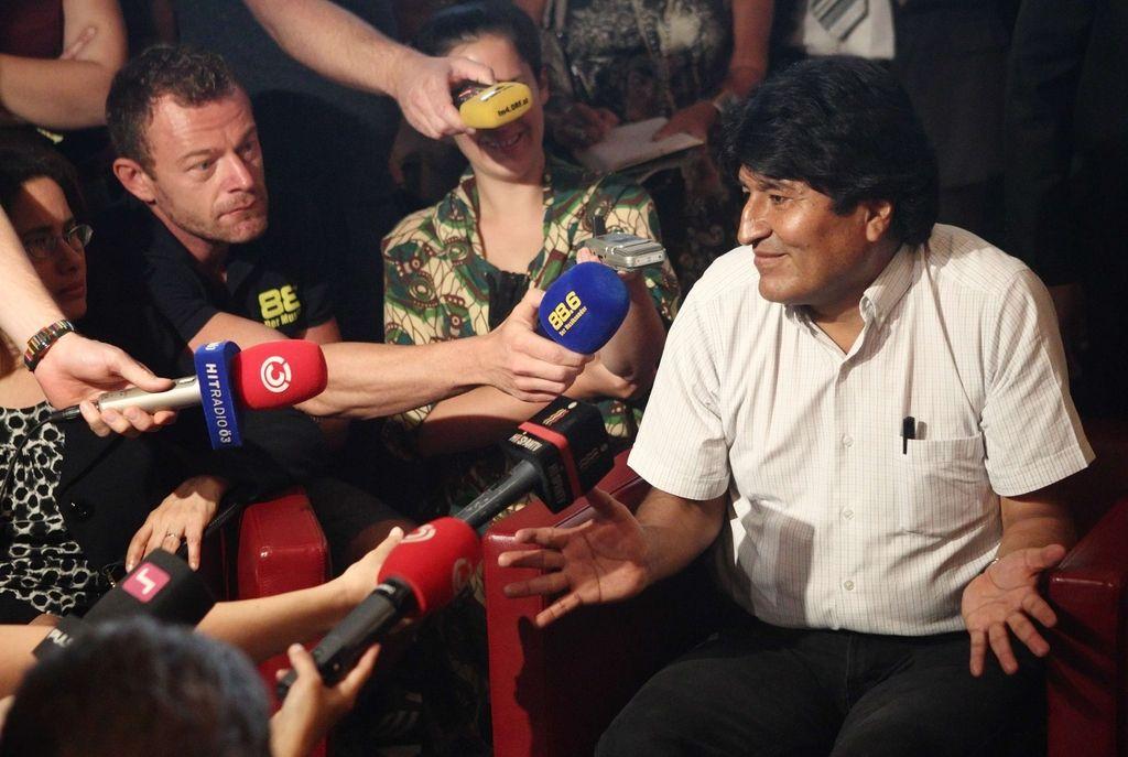 Bolivija bo zaradi blokade letala pri ZN vložila pritožbo