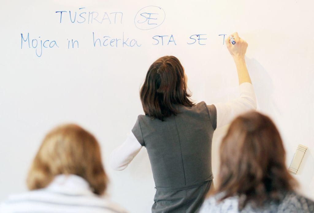 Poletno učenje slovenščine na mednarodnih seminarjih