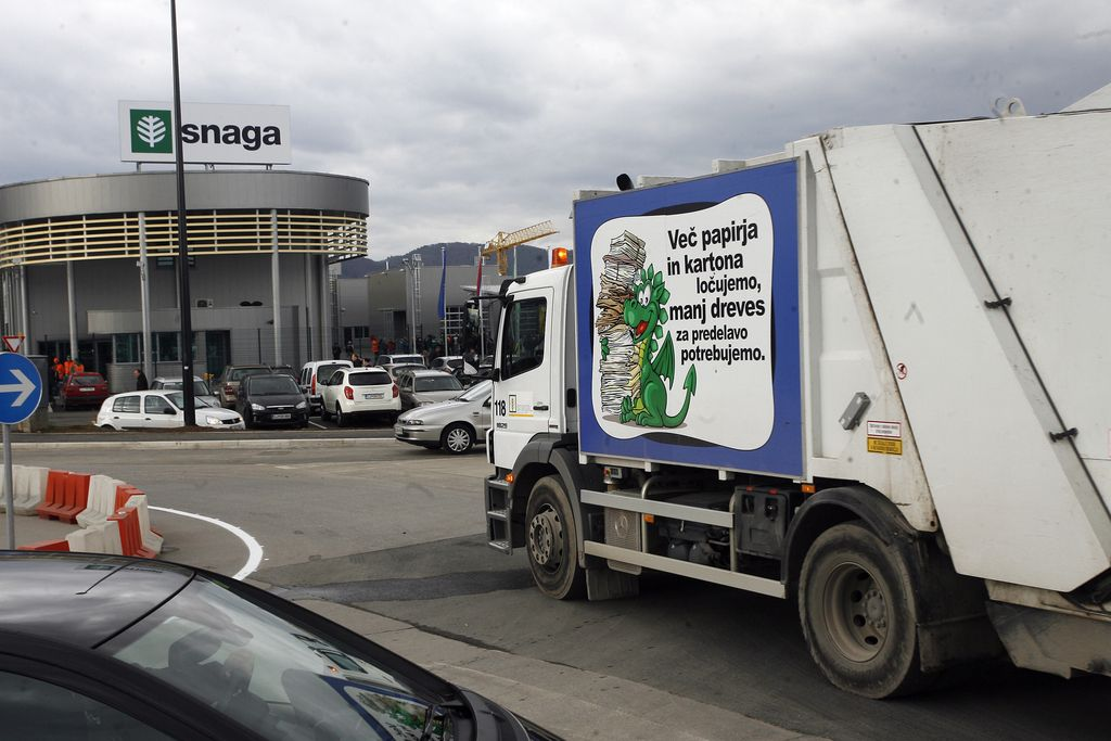 V Snagi ločijo že več kot polovico odpadkov