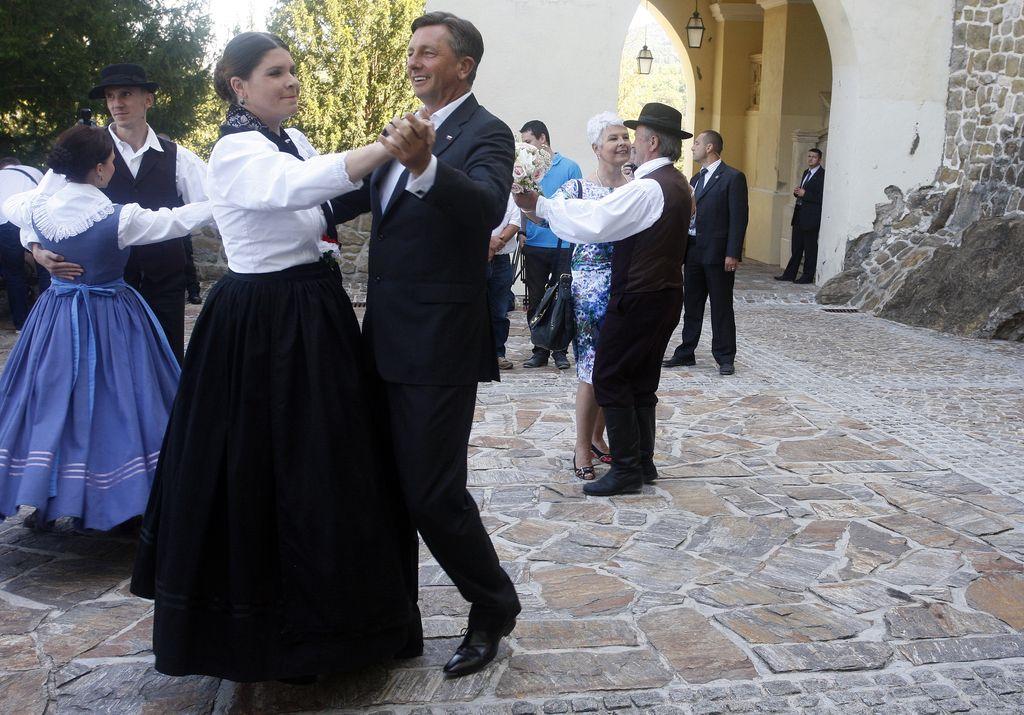 Pahor in Kosorjeva spet v Trakoščanu