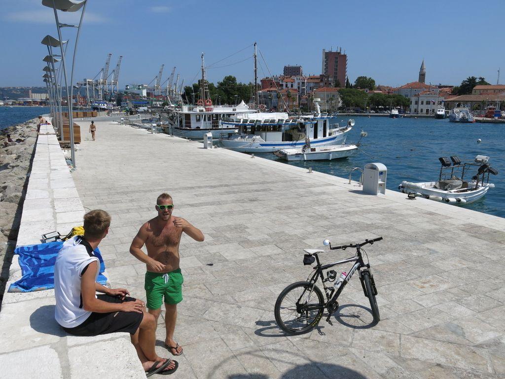 Ribiški pomol v Kopru končan, a z novimi zapleti