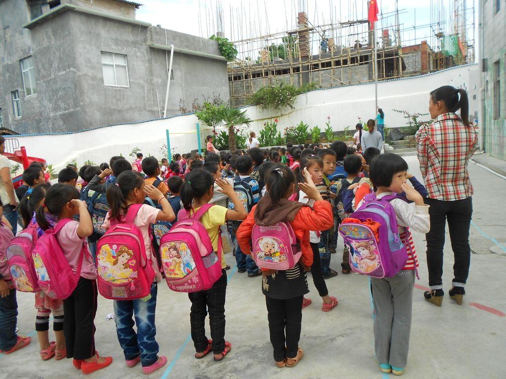 Male zgodbe iz velike države: Prva šolska ura