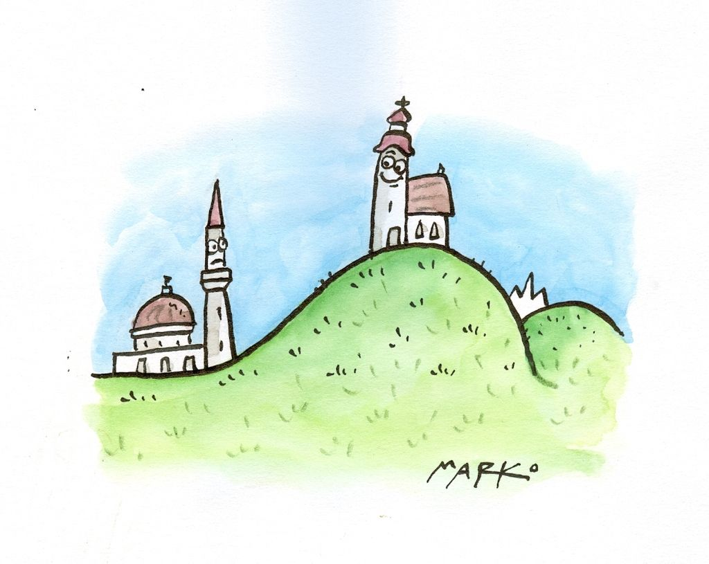 Džamija in »drugačni«