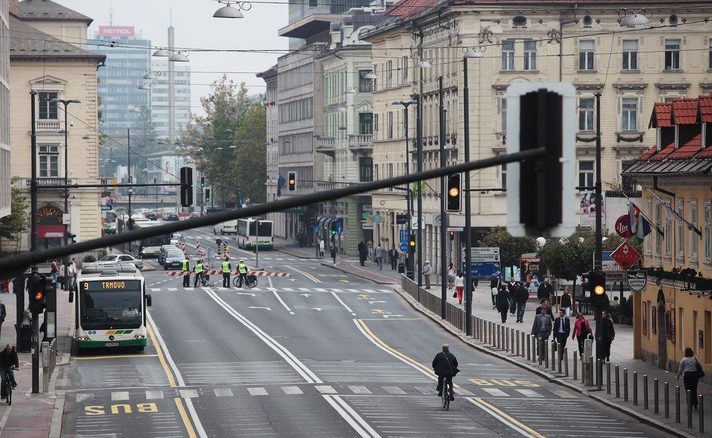 Do prenovljene Slovenske ceste počasneje, kot je bilo načrtovano