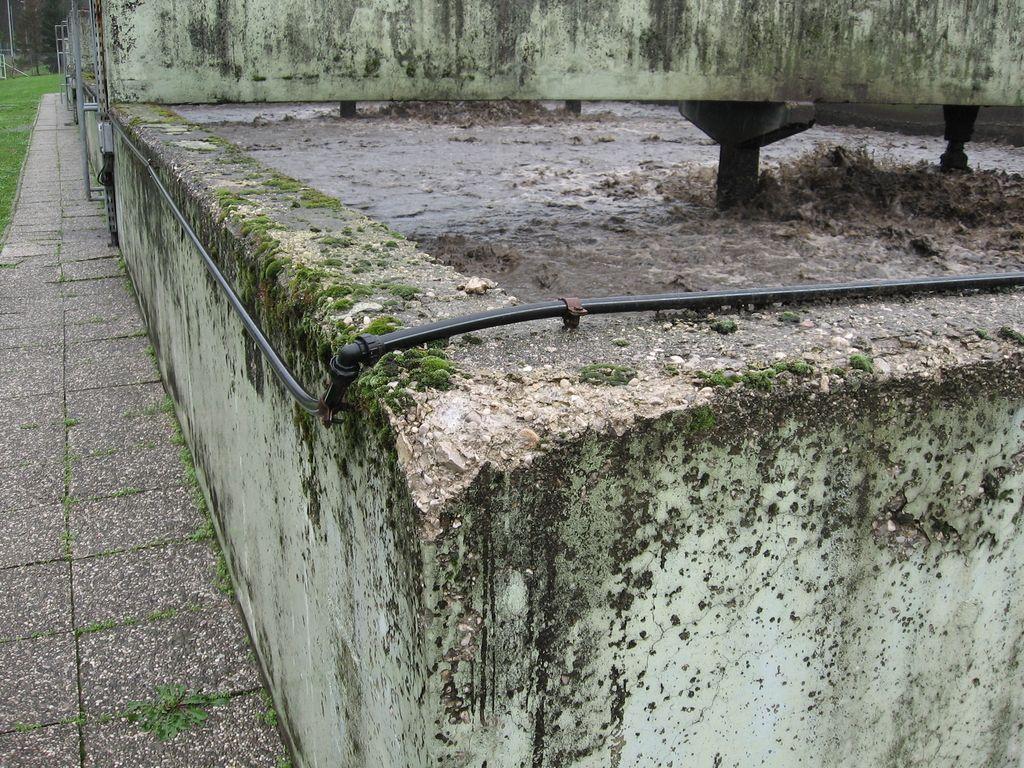 Vplivno območje čistilne naprave v Zarici je še uganka