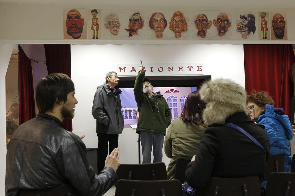 Ne le lutke, tudi lutkarji so del muzeja