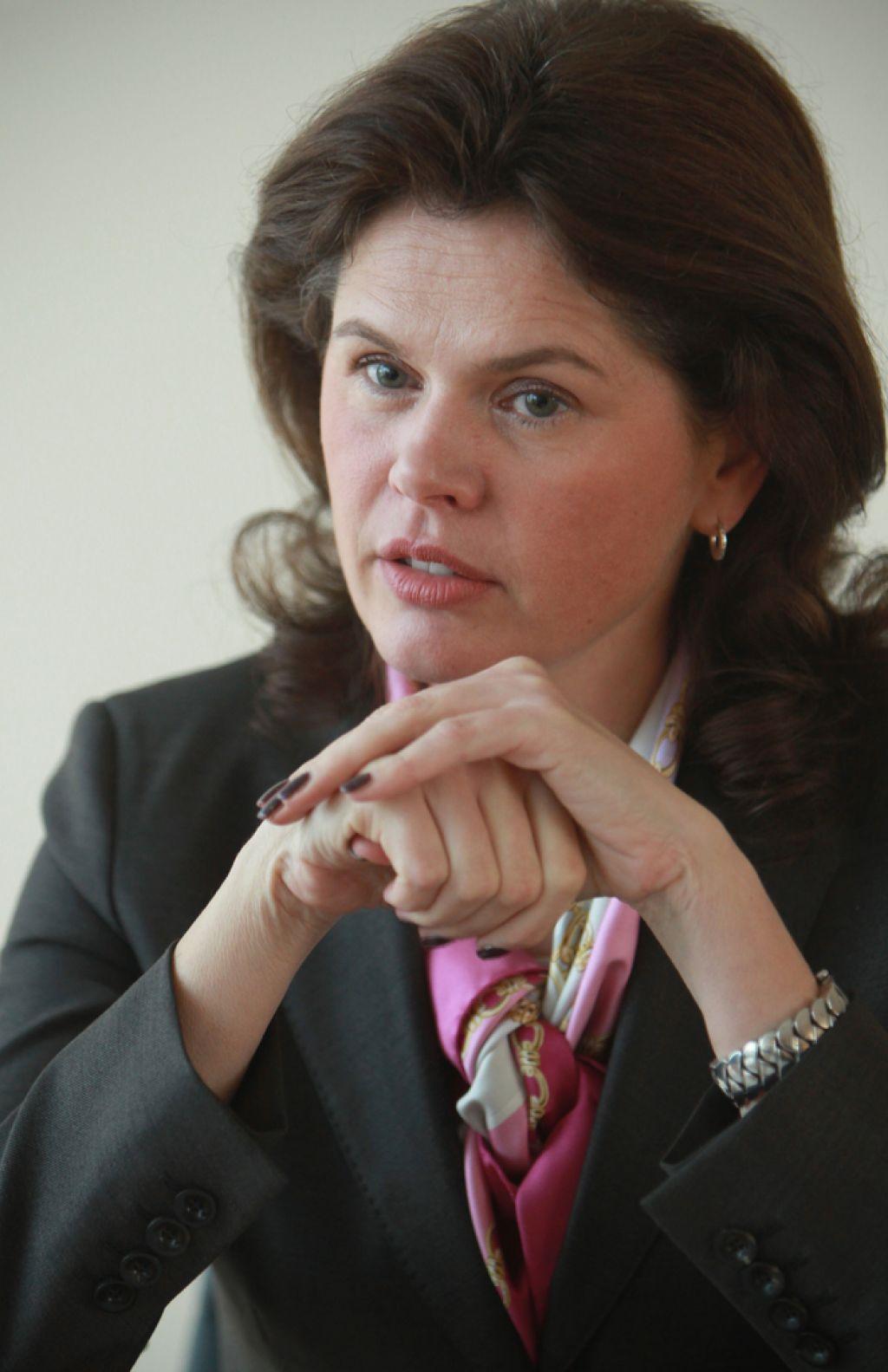 Alenka Bratušek: »Nismo vsi krivi za dogajanje v bankah.«