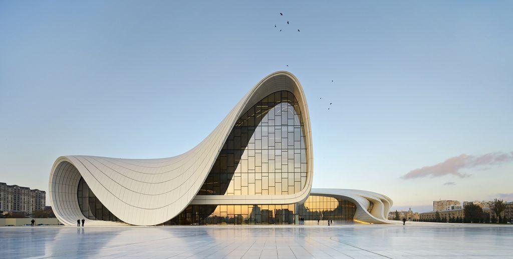 Zaha Hadid v Bakuju