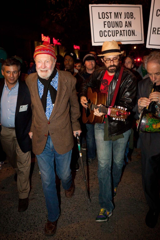 Pete Seeger, pesnik protesta in trubadur idealizma