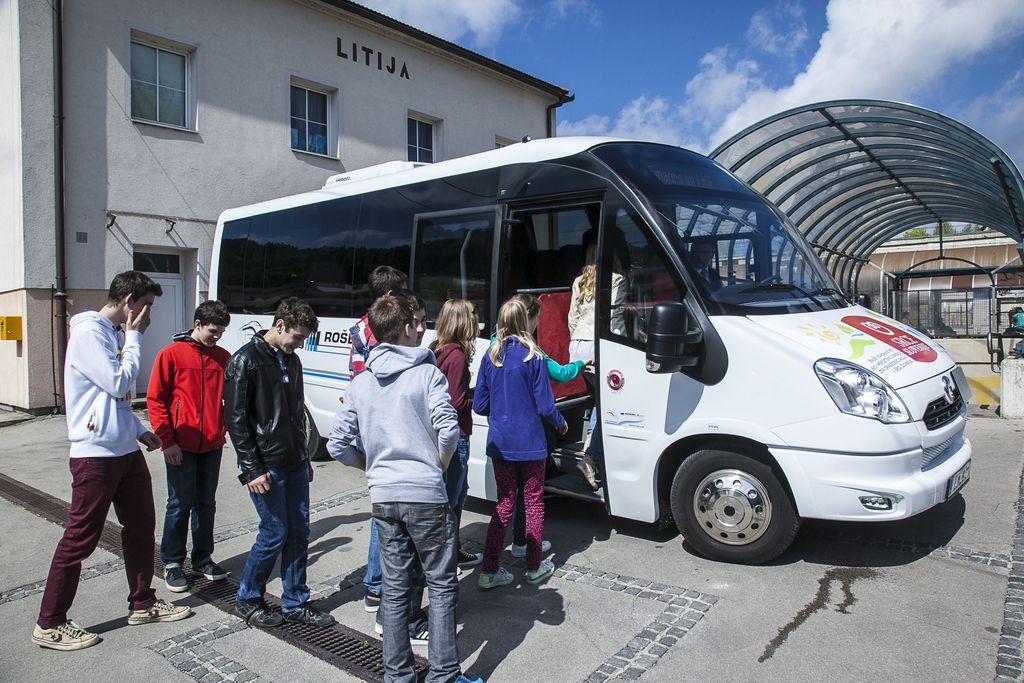 Nov avtobus med Litijo in Šmartnim
