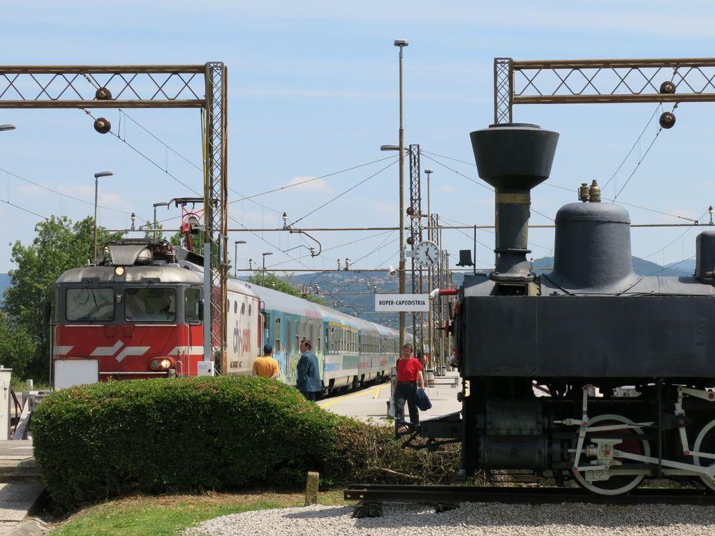 Tudi kopalni vlak bo vozil na dizel