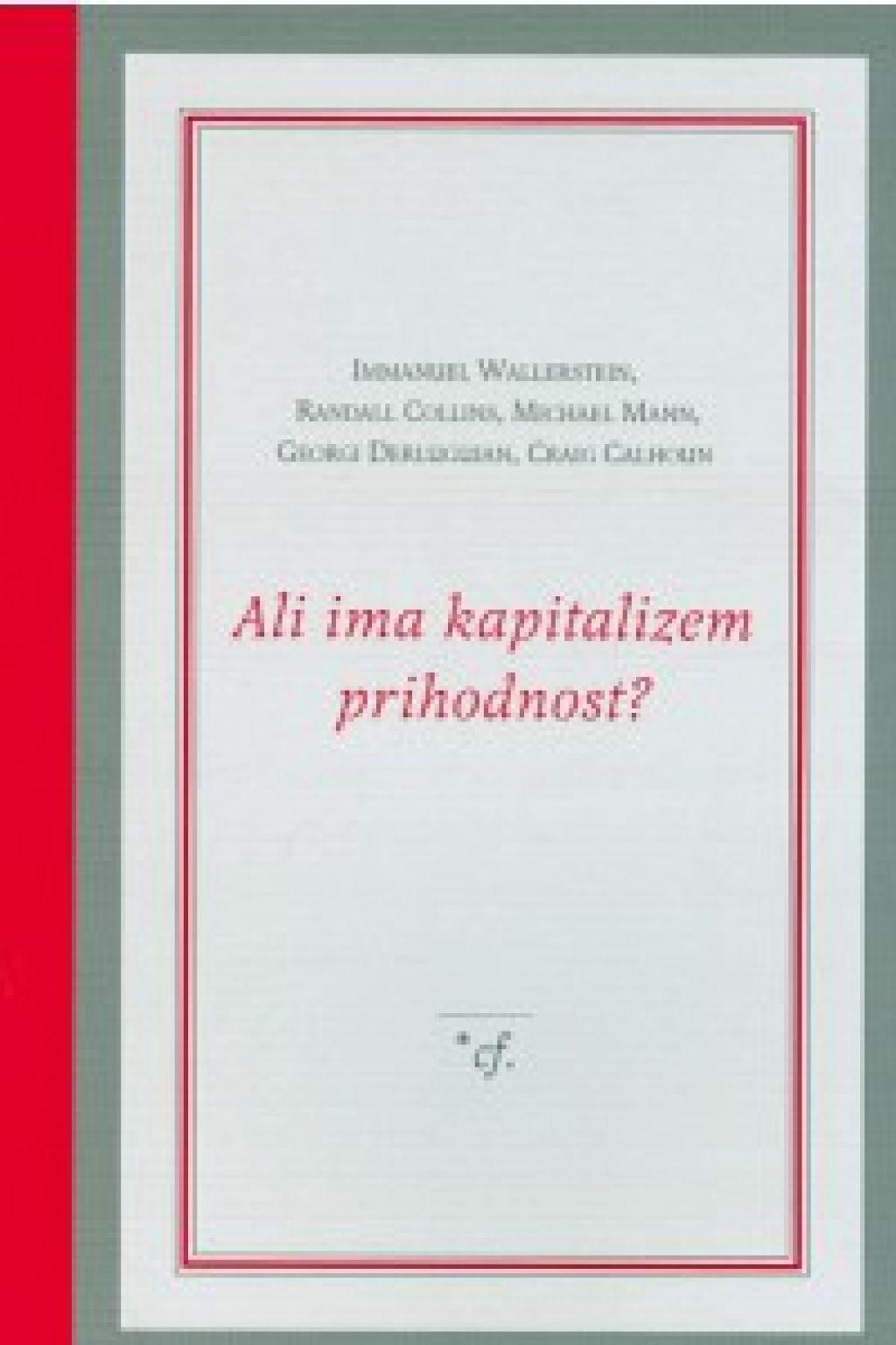 Recenzija knjige: Strukturno določena prihodnost