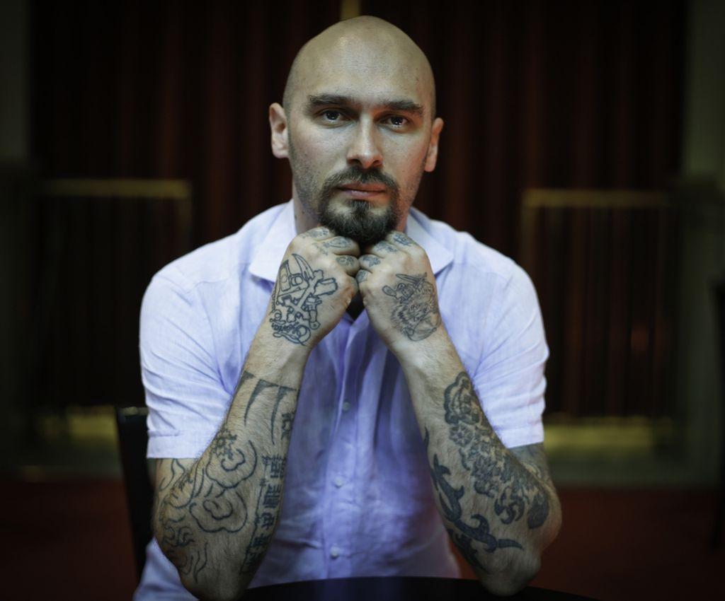 Nikolaj Lilin: Ne vem, koliko tetovaž imam in koliko ljudi sem ubil