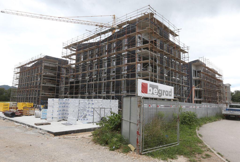 Gradnja soseske Polje III teče nemoteno
