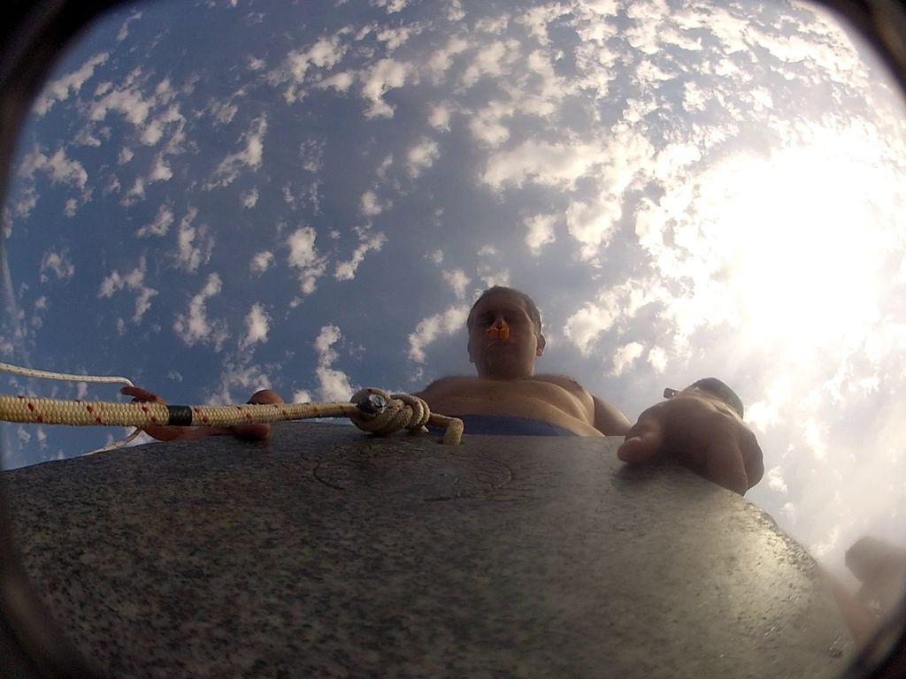 Iščem 113 metrov globine: Pogled nazaj