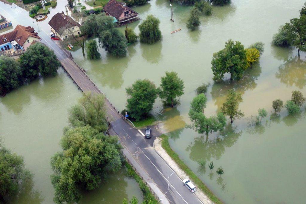 V Kostanjevici dvakrat več škode kot 2010