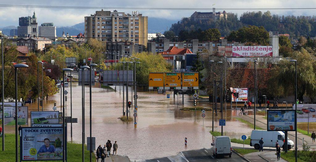 Vič le štiri leta od zadnje poplave spet pod vodo