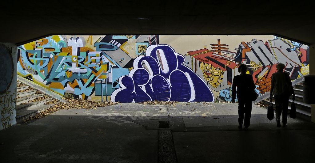 Grafiti v simbiozi z mestom