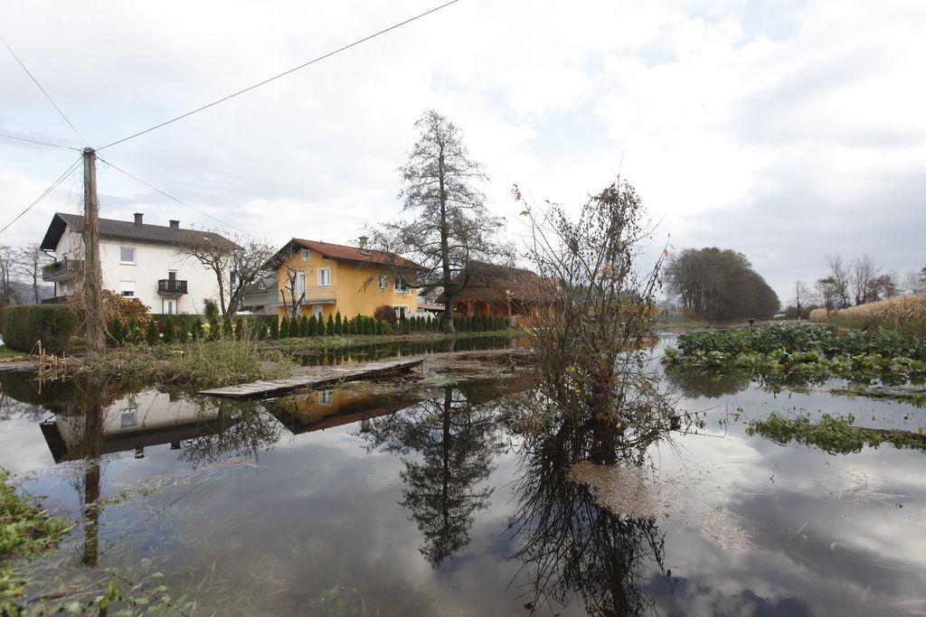 Poplave tokrat prizadele južni del Ljubljane