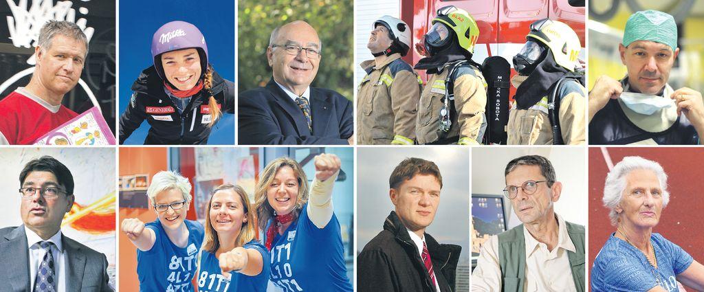 Od direktorja do gasilcev