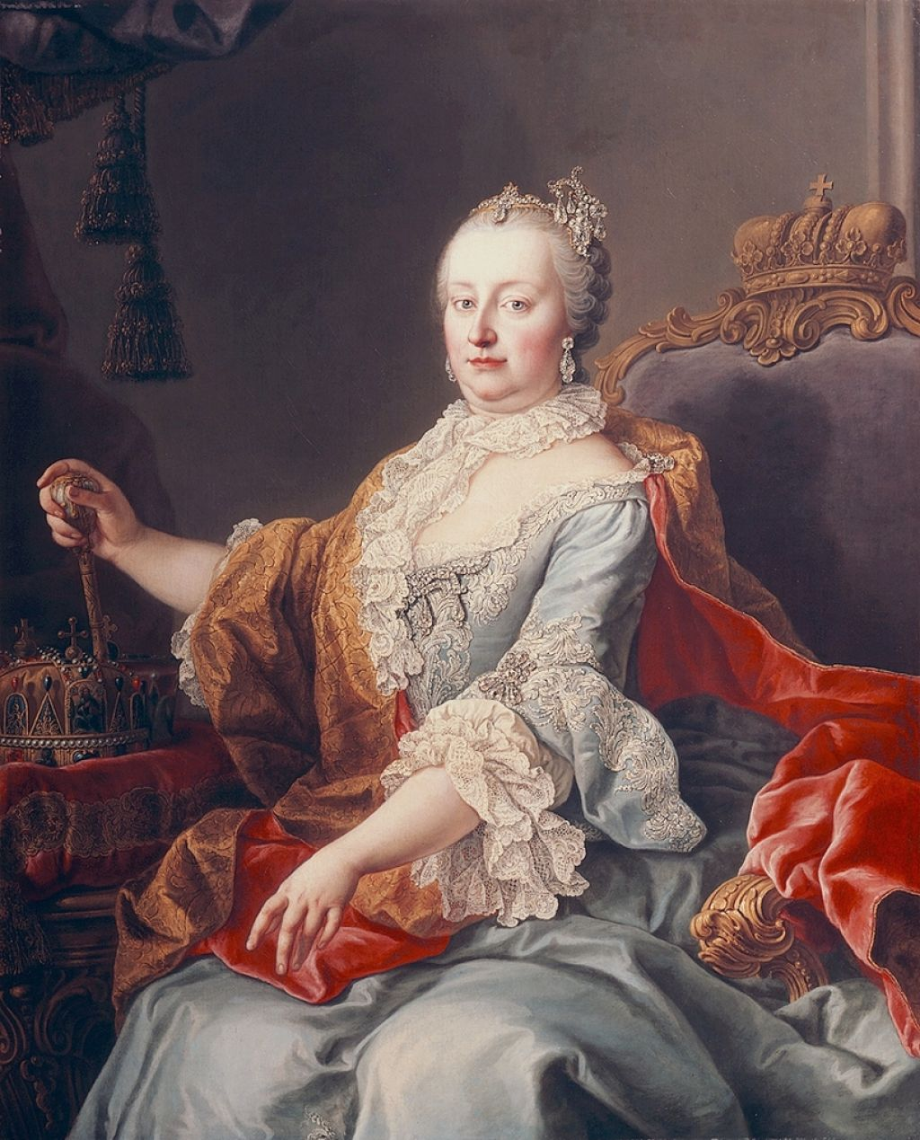 Marija Terezija, Habsburžanka, nekdanja prva dama Evrope