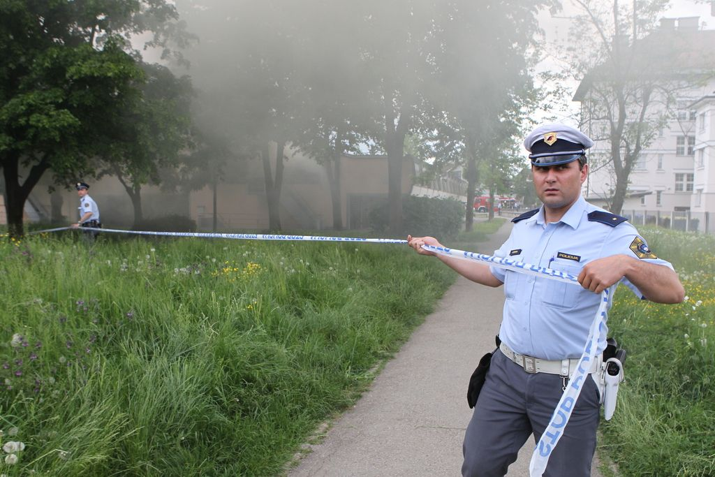 V Ljubljani našli mrtvega policista