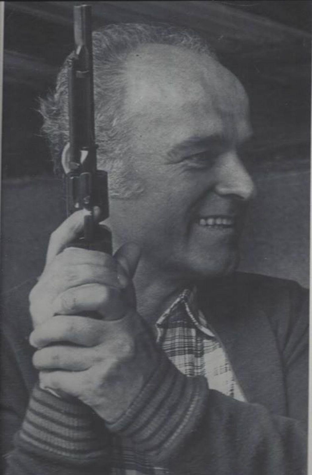 Umrl olimpijec Franc Peternel