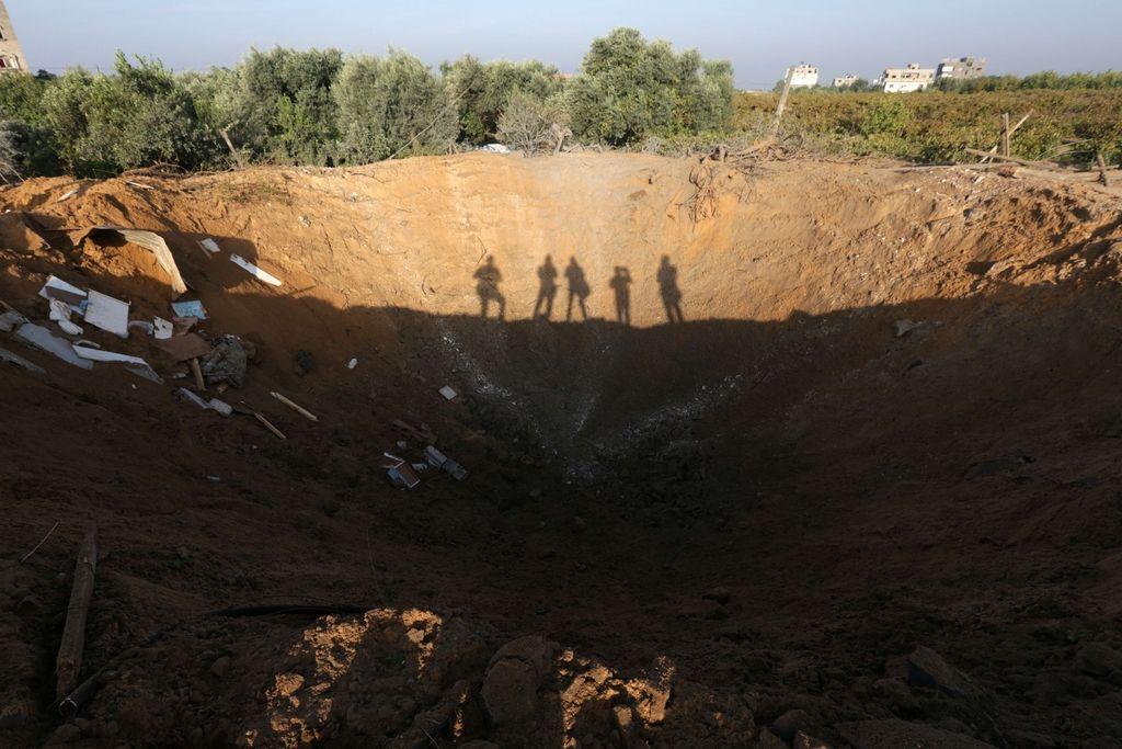 Izraelska letala znova nad Gazo