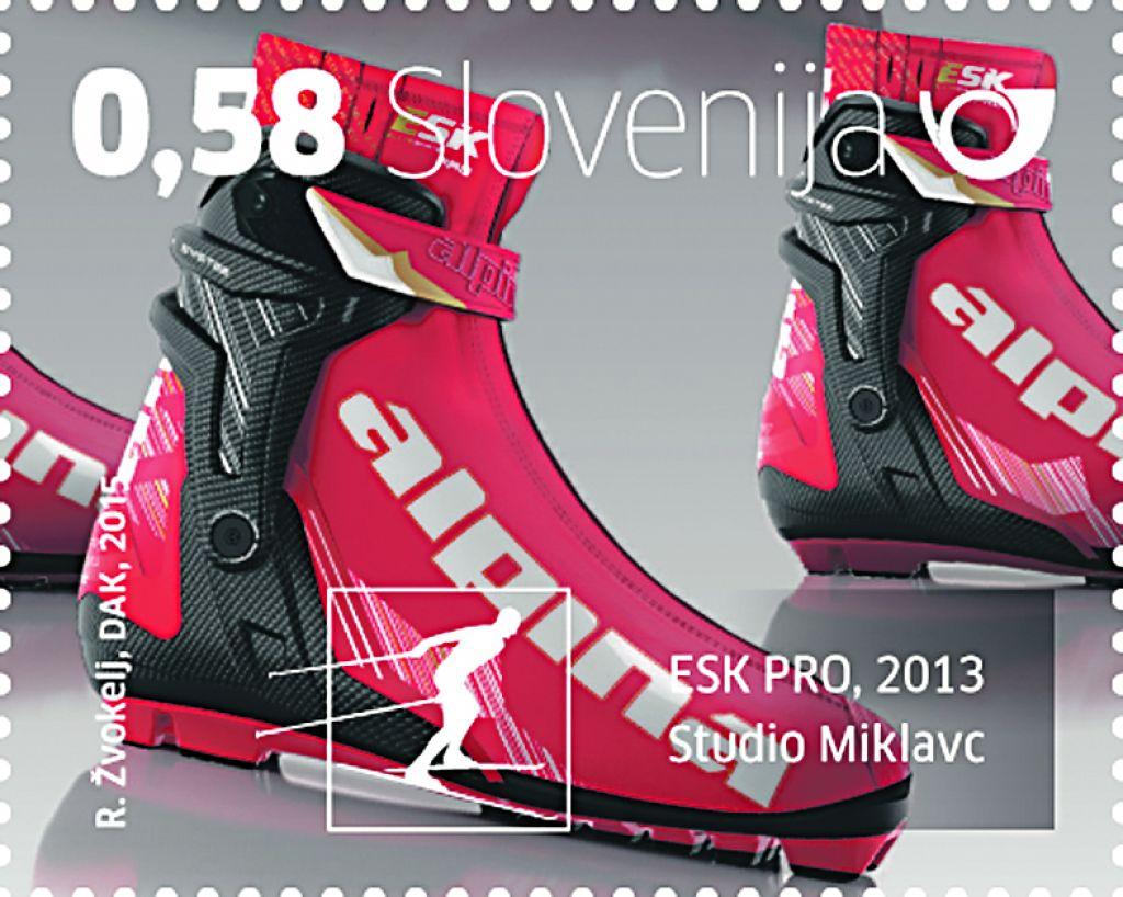 Ikone slovenskega oblikovanja na poštnih znamkah
