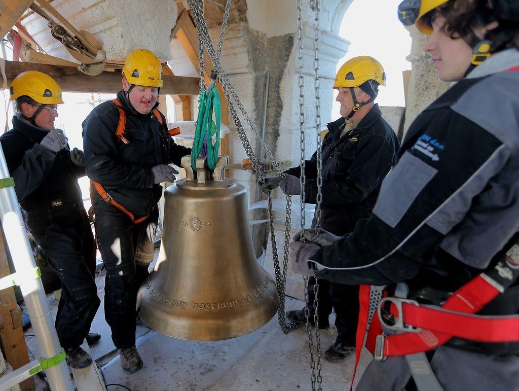 Berlinčana bosta zvonila sv. Juriju in Pirančanom
