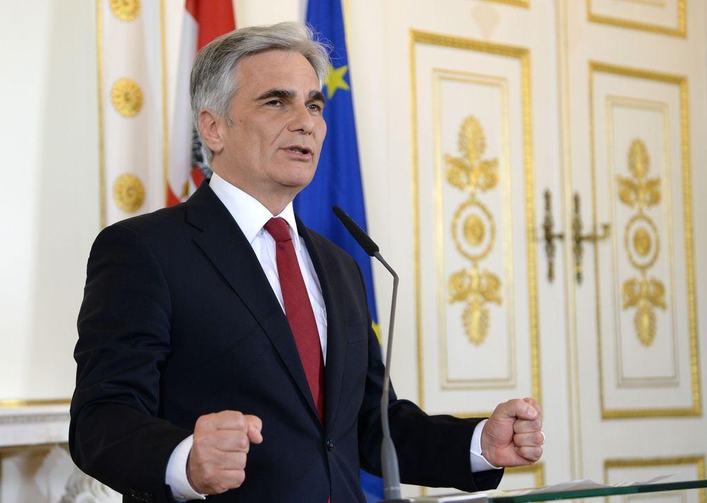 Avstrija: slovo socialdemokratskega kanclerja