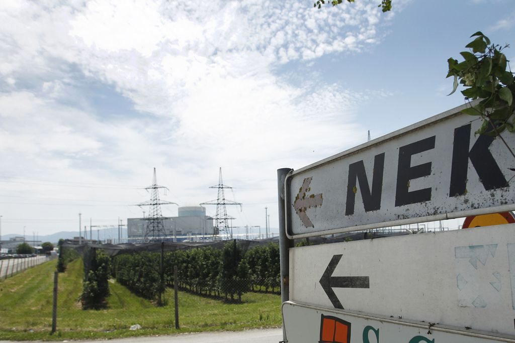 Okvarjen ventil zaustavil jedrsko elektrarno Krško