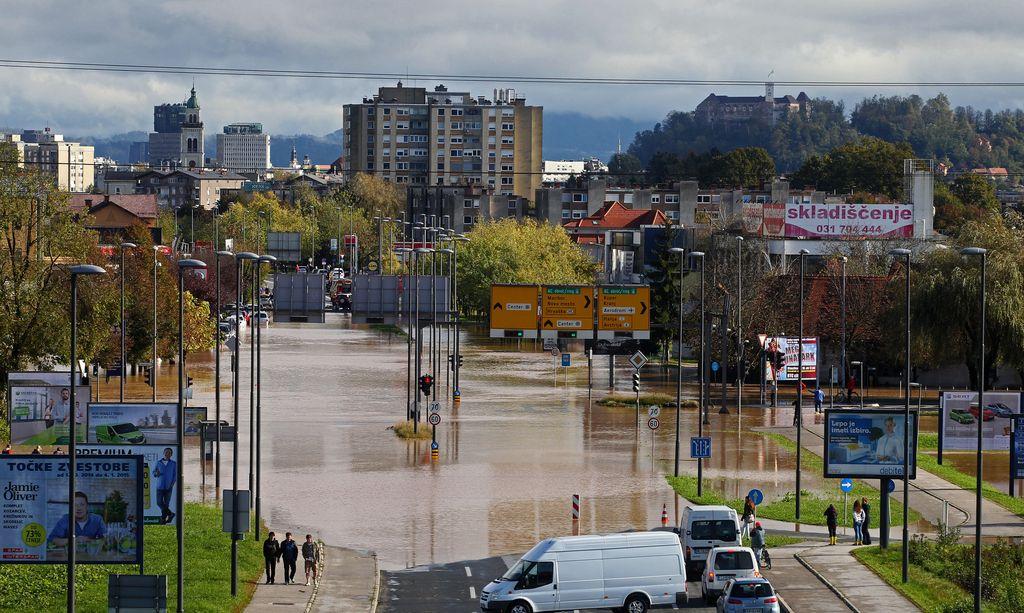Ljubljana bo manj ogrožena, a še zdaleč ne varna
