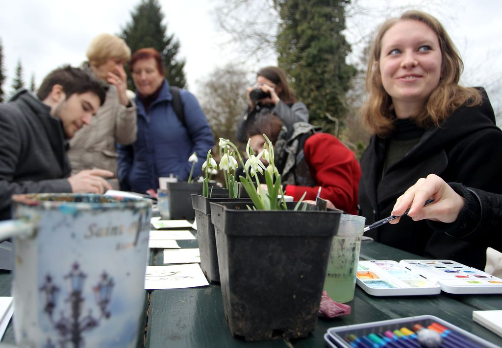 Prvi zvončki že naznanjajo pomlad