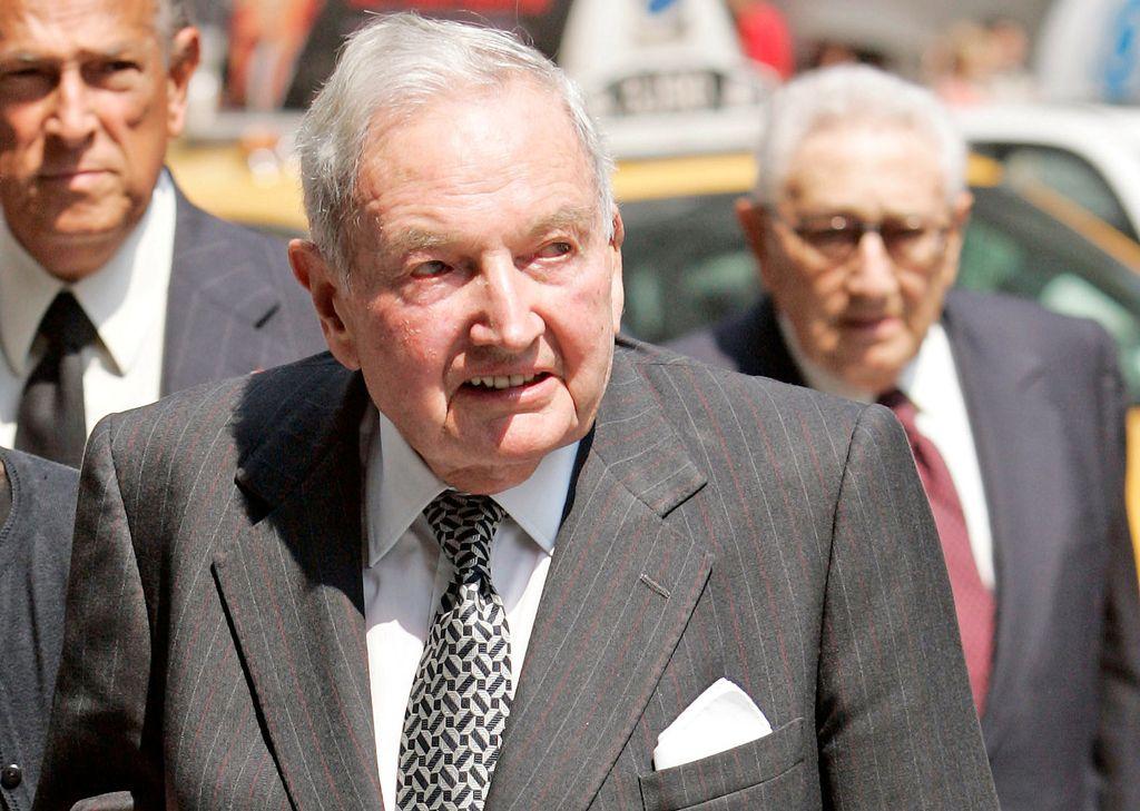 Umrl 101-letni milijarder David Rockefeller