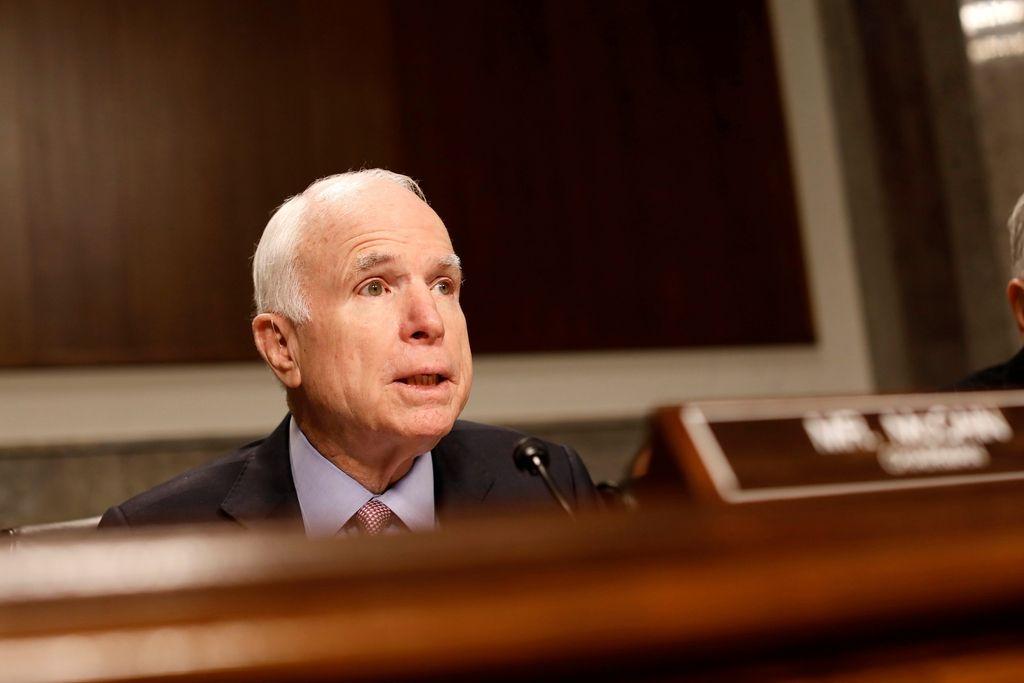 Ameriški senator John McCain na obisku v Sloveniji