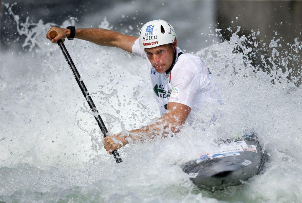 Benjamin Savšek svetovni prvak v slalomu na divjih vodah