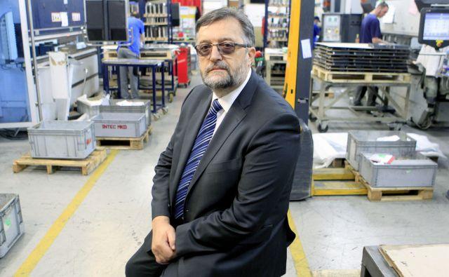Milan Zupančič,direktor podjetja Intec,Tržič Slovenija 21.12.2017 [Portret ]