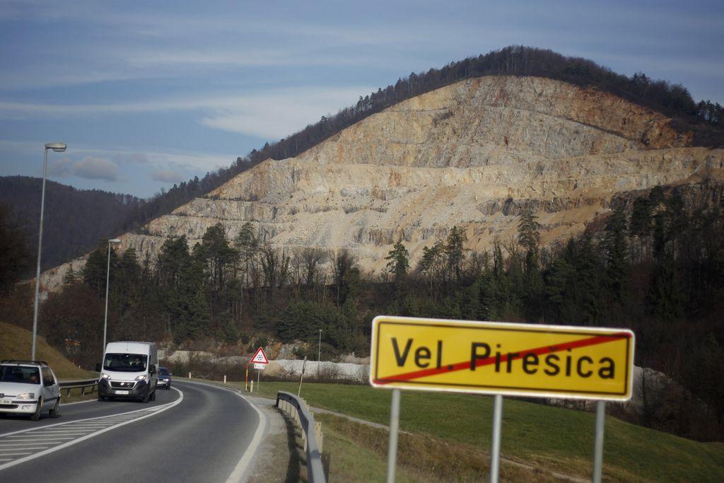 Država na prvi stopnji izgubila pol kamnoloma