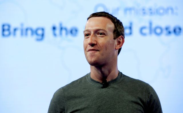 FILE - In this June 21, 2017, file photo, Facebook CEO Mark Zuckerberg speaks during preparation for the Facebook Communities Summit, in Chicago. Zuckerberg embarked on a rare media mini-blitz Wednesday, March 22, 2018, in the wake of a privacy scandal