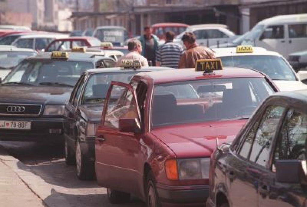 Za taksi v Ljubljani največ evro in pol