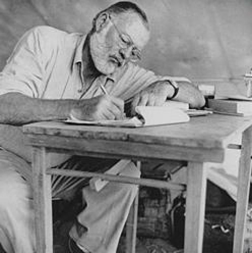 Na Kubi našli Hemingwayjeve zapiske